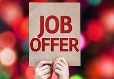 Job Offer The Social Work Job Offer Decline Or Accept