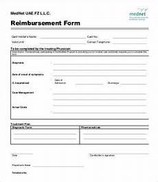Generic Expense Reimbursement Form Expense Reimbursement Form Templates 17 Free Xlsx Docs