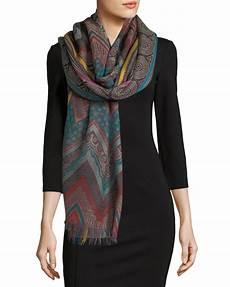 sabira design so chevron wool shawl how to wear