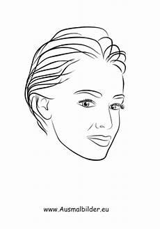Malvorlagen Gesichter Pdf Ausmalbilder Kurzhaarschnitt Gesichter Und Frisuren