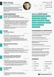 One Page Resumes Elon Musk Has A One Page Resume That We All Must Take