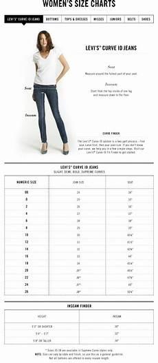Levis Size Chart Esklusif Dari Us Levi S Size Charts