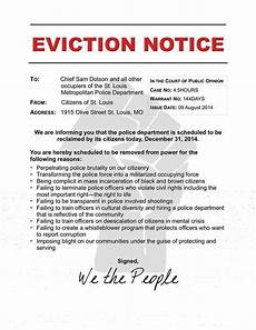 Eviction Notice Form Notice Of Eviction Real Estate Forms
