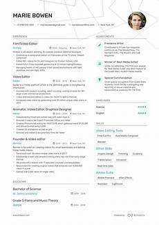 Video Editing Resume Hostess Resume Example And Guide For 2020