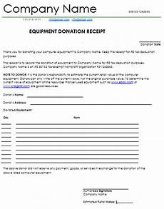 donation receipt letter template word donation receipt template 12 free sles in word and excel