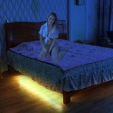 led light led bed light with smart motion