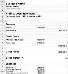 Ytd P L Template How To Prepare A Profit Amp Loss Statement It S Easy With