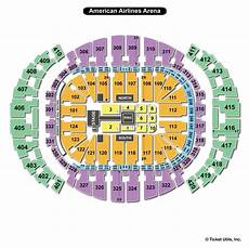 Aa Arena Miami Seating Chart Americanairlines Arena Miami Fl Seating Chart View