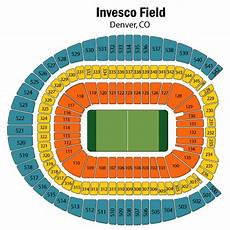 Broncos Seating Chart View Mile High Stadium Seating Chart Views And Reviews