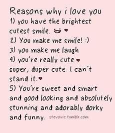 Reasons Why I Love You Reasons Why I Love You On Tumblr