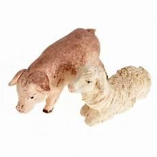 animali cortile animali da cortile 10 pz terracotta 10 cm vendita
