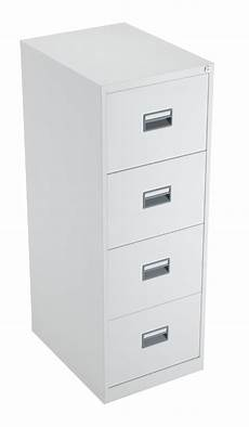 steel 4 drawer filing cabinet white