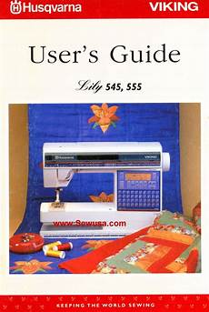 Viking Husqvarna Instruction Manuals