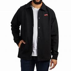 coats vans vans x spitfire torrey fleece jacket black