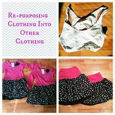 diy repurposing clothing to new clothing practical