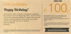 Gift Certificate Paper Biolindo Have A Nice Birthday Gift Certificate Made From