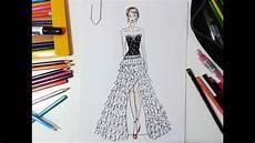desenho de roupas desenho de moda vestido de festa