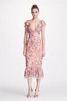 Marchesa Size Chart Marchesa Notte Embroidered Cocktail Dress In Lilac Modesens
