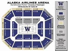 Alaska Airlines Arena Seating Chart University Of Washington Official Athletic Site Tickets
