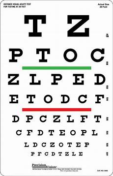 Eye Sight Chart One Sided Snellen Eye Test Chart 6m Hibernia Medical