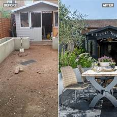 enjoy this gorgeous garden makeover with fab she shed