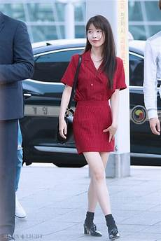 iu airport fashion official korean fashion