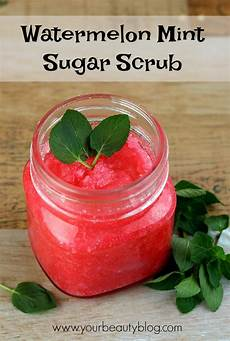 Bud Light Watermelon Sugar Watermelon Mint Sugar Scrub Recipe