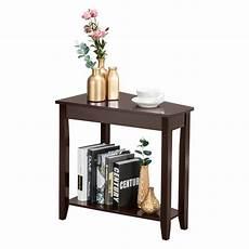 winado 2 tier wood end table sofa side coffee