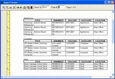 Asset Management Report Sample Print Asset Reports