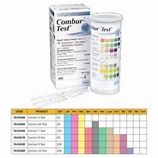 Combur 10 Test Chart Combur Urine Test Strips Urinalysis Testing Amp Analysis