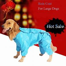 coats for dogs large rains large raincoat for big dogs outdoor clothing