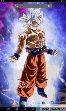 Z Live Wallpaper Iphone App by Goku Ultra Instinct Live Wallpaper App Store For Android