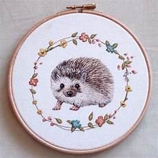 embroidery animals embroidered animal portraits crafted with meticulous