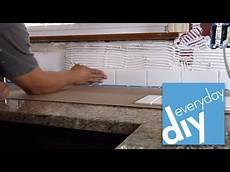 how to install tile backsplash kitchen how to install a tile backsplash part 1 buildipedia