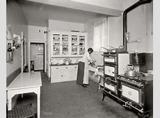 The Modern Kitchen: 1920   Shorpy Old Photos   Poster Art