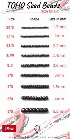 Toho Seed Bead Size Chart Blog News What Is Toho Japanese Seed Beads Size
