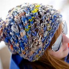 great bulky hat pattern featuring handspun textured