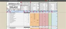 Investment Property Spreadsheet Spreadsheet For Investment Property