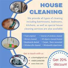 Cleaning Services Advertising Blue Spring Cleaning Service Advertisement Sample Template