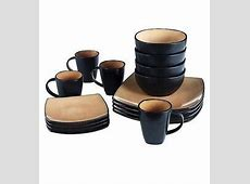 48 Piece Square Dining Set Dinnerware Plates Dishes Bowls