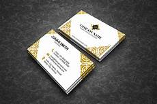 Elegant Business Cards Elegant Business Cards By Polah Design Thehungryjpeg Com