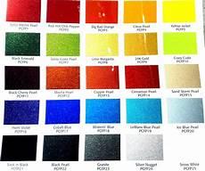 Metallic Car Paint Color Chart Motorcycle Paint Schemes Image 2 Car Painting Car