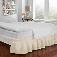 easy fit baratta ivory bed skirt 16309beddtfuivy