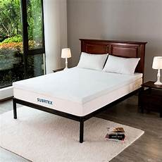 2019 subrtex 3 inches gel infused memory foam bed mattress