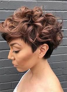 kurzhaarfrisuren locken undercut 100 hairstyles for pixie bob undercut hair