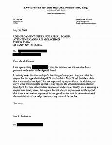 How To Write An Appeal Letter For Unemployment Disqualification A Lawyer S Blog Jon Michael Probstein Esq October 2010