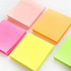 Post It Memo 100 Sheets Macaron Color Sticky Note Portable Adhesive