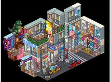 HabboBites   [Bundle] Tokyo Street Market