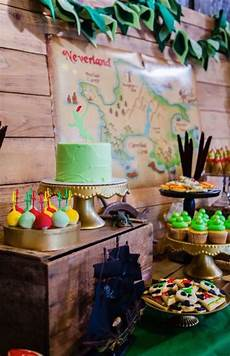 Tinkerbell Themed Birthday Party Ideas Kara S Party Ideas Neverland Peter Pan Tinkerbell Themed