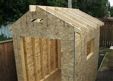 Shed Roof Overcoming Shed Building Problems
